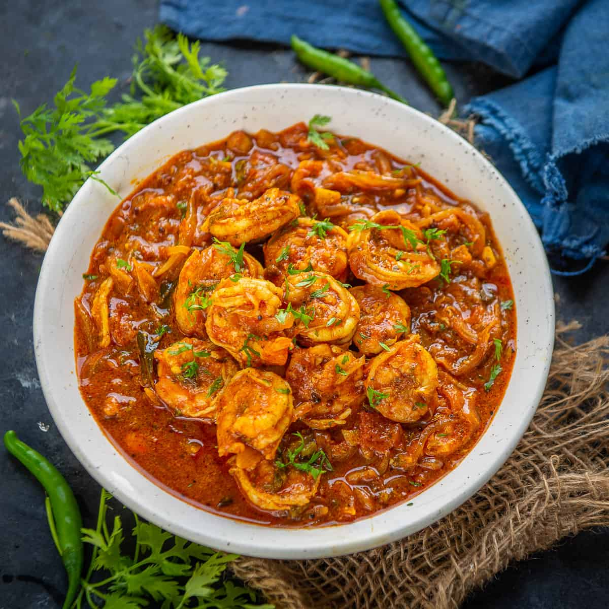 Kerala Prawn Curry 3