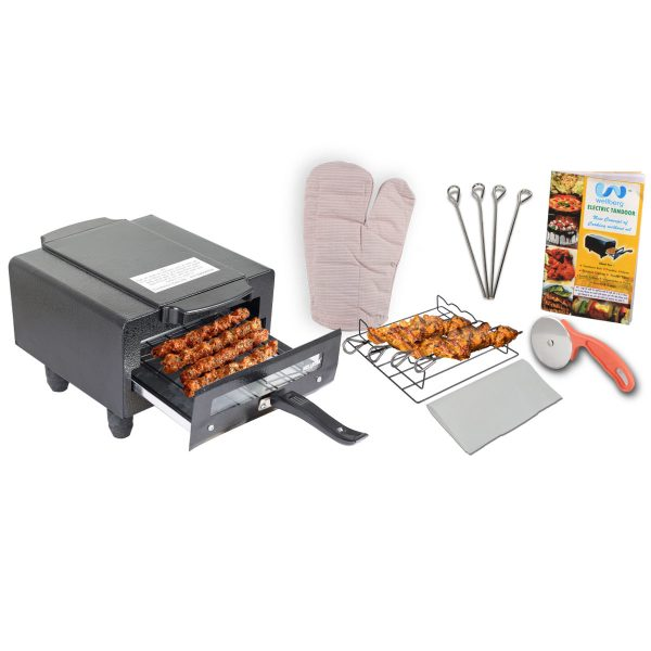 Wellberg Electric Tandoor with Free Gifts 1