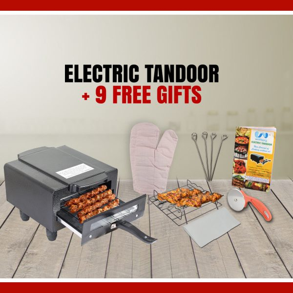 Wellberg Electric Tandoor with Free Gifts 2